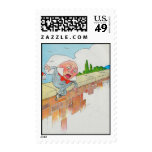 Humpty Dumpty sat on a wall Postage Stamp