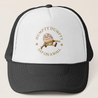Humpty Dumpty Sat On A  Wall Trucker Hat