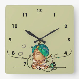 Humpty Dumpty Square Wall Clock