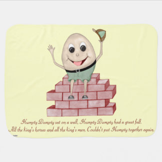 Humpty Dumpty Stroller Blanket