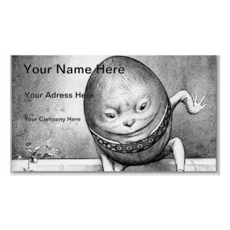 Humpty Dumpty Plantilla De Tarjeta De Negocio