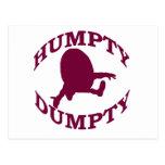 Humpty Dumpty Tarjetas Postales