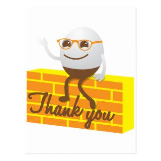 Humpty Dumpty thank you Postcard