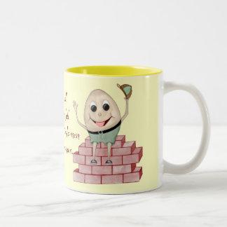 Humpty Dumpty Two-Tone Coffee Mug