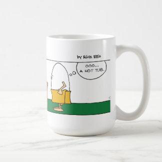 Humpty Hot Tub Coffee Mug