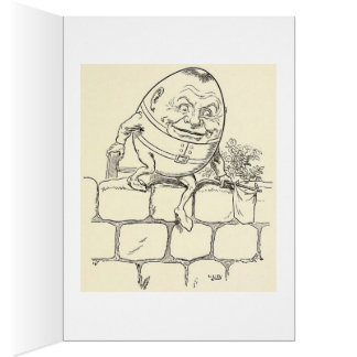 Humpty Nightmare Birthday Card. Greeting Card