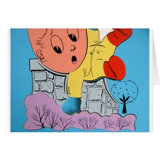 Humpty's Fall Greeting Card