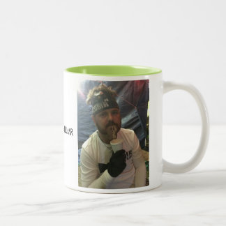 HUMR ULTRA CAPTAIN Two-Tone COFFEE MUG