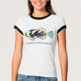 Humuhumunukunukuapua'a Cartoon Fish T-shirt