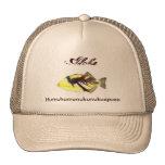 Humuhumunukunukuapuaa, hawaiana gorros bordados