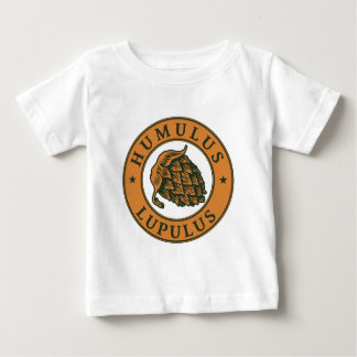 Humulus lupulus hop for craft beer baby T-Shirt