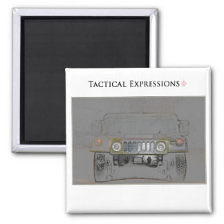 Humvee Colored Pencil Products Magnet