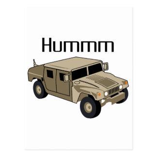 Humvee Hummm Postales