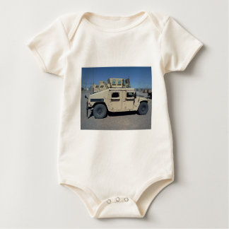 HUMVEE UNITED STATES MILITARY BABY BODYSUIT