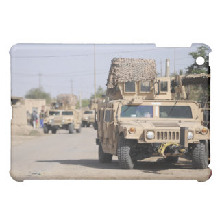 Humvee's conduct security during a patrol iPad mini cover