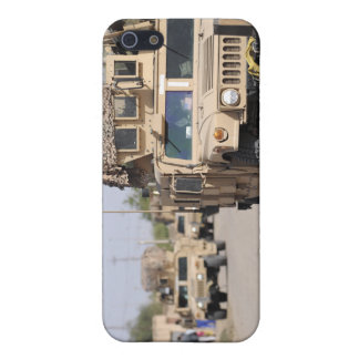 Humvee's conduct security during a patrol iPhone SE/5/5s cover