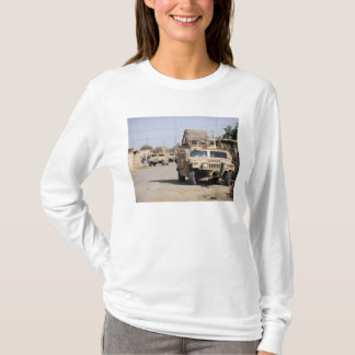 Humvee's conduct security during a patrol T-Shirt