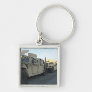 Humvees sit on the pier at Morehead City Keychain