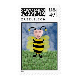 Hun E. Bee Postage