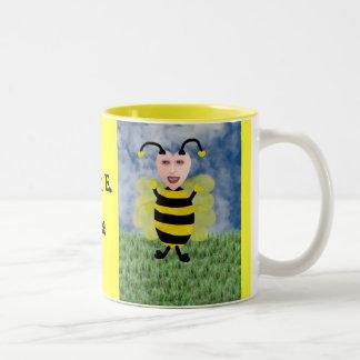 Hun E. Bee Two-Tone Coffee Mug