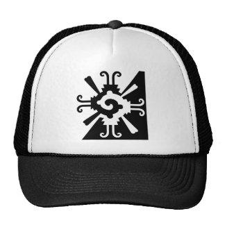 Hunab Ku-Black and White Trucker Hat