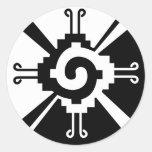 Hunab Ku Classic Round Sticker