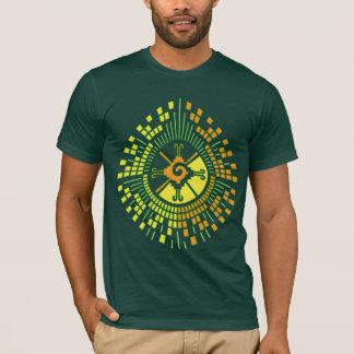 Hunab Ku Mayan DNA Tree T-Shirt