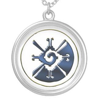 Hunab Ku Round Pendant Necklace