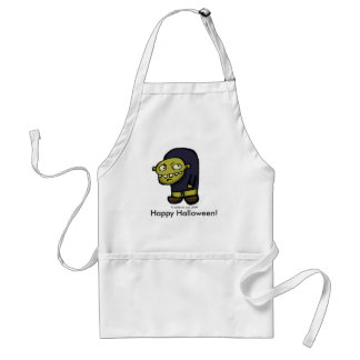 Hunch Back Stare Adult Apron