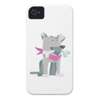 Hund Knochen dog bone iPhone 4 Case-Mate Case