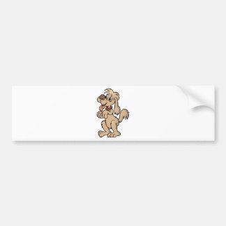 Hund, Mein bester Freund Bumper Sticker