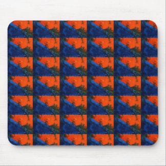 """""""Hunda diseño abstracto tejado Mousepad del fuego"""