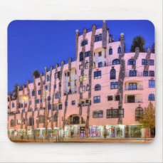 Hundertwasser in Magdeburg photo Mouse Pad