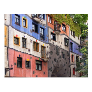 Hundertwasser in Vienna photo Postcard