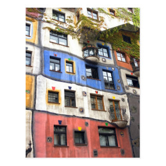 Hundertwasserhaus Vienna photo Postcard