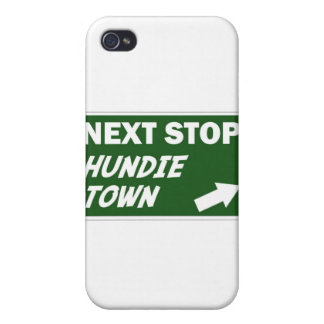 Hundie Town Hard Shell Case for iPhone 4/4S