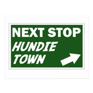 Hundie Town Postcard
