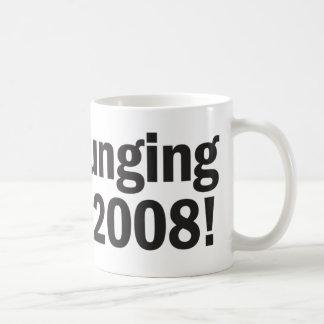 ¡Hundimiento en 2008! Taza Básica Blanca