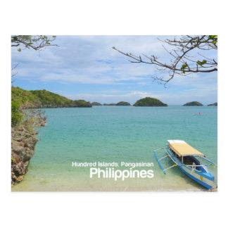 Hundred Islands, Pangasinan Philippines Postcard