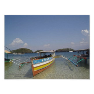 Hundred Islands, Pangasinan, Philippines - Poster