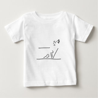 hundred-meter sprint track-and-field events start baby T-Shirt