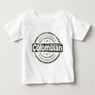 Hundred percent colombian, by Lyserty Baby T-Shirt