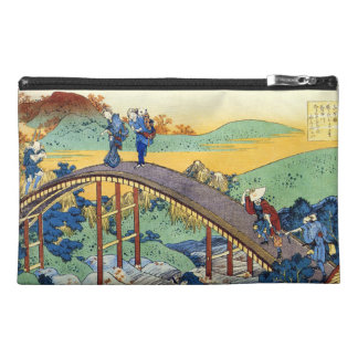 Hundred Poems Explained by the Nurse Hokusai Travel Accessories Bags