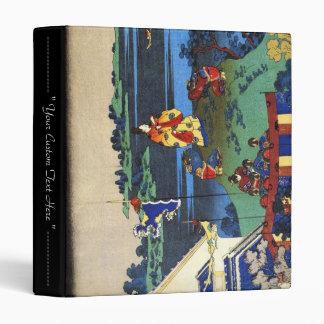 Hundred Poems Explained by the Nurse Hokusai Binder