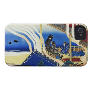 Hundred Poems Explained by the Nurse Hokusai Case-Mate iPhone 4 Case