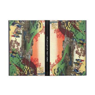 Hundred Poems Explained by the Nurse Hokusai iPad Mini Cover