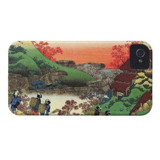 Hundred Poems Explained by the Nurse Hokusai iPhone 4 Case