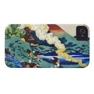 Hundred Poems Explained by the Nurse Hokusai iPhone 4 Case-Mate Case