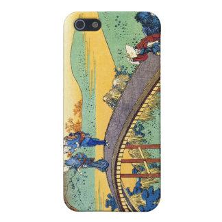 Hundred Poems Explained by the Nurse Hokusai iPhone SE/5/5s Case
