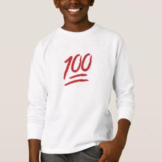 Hundred Points Symbol Emoji T-Shirt